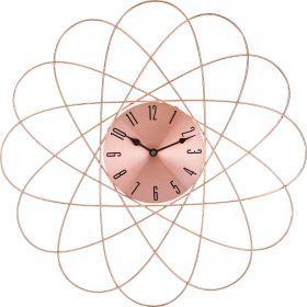 Часы настенные 50*50*4,5 см циферблат диаметр=16 см.-764-030