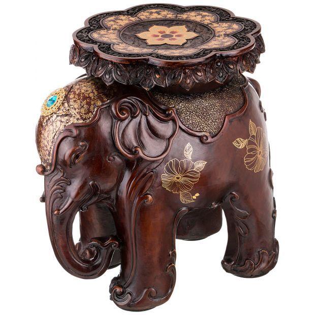 """Подставка-слон """"отдых и восстановление сил"""" 50*36 см. высота=49 см.-114-344"""