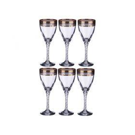 Набор рюмок для вина  твист из 6 шт  220 мл.