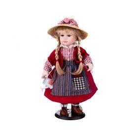 Кукла фарфоровая высота=42 см.-346-227