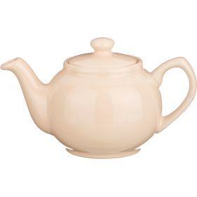 Заварочный чайник 400 мл. бежевый (кор=24шт.)-470-044