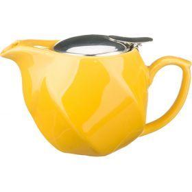 Заварочный чайник 500 мл. желтый-470-181