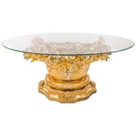 Стол интерьерный + стекло 120*65*50 см.-93-305