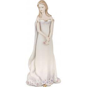 Статуэтка леди с шалью высота=30 см.