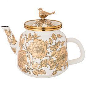 Чайник эмалированный agness, 1,0л-950-107