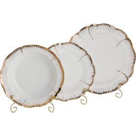 Набор тарелок из 18 шт. цветочная симфония