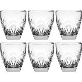 Набор стаканов из 6 шт. 300мл. высота=9см.-305-604