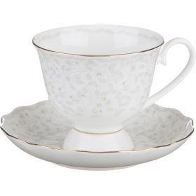 Чайный набор на 1 персону 2 пр.вивьен 350 мл.высота=9 см.