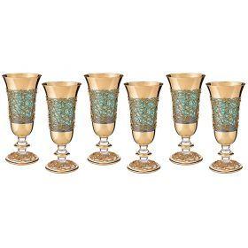 Набор бокалов для вина из 6 шт.250 мл.высота=19 см.-103-523