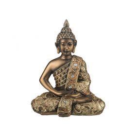 Фигурка будда. сосредоточенность 14*7*17 см.