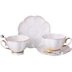 Чайный набор на 2 персоны с ложками 6 пр. 250 мл.-779-171