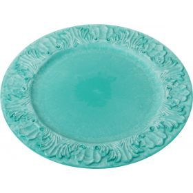 Пластиковая подстановочная тарелка 36*36*2 см. без упаковки-505-067