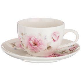 Чайный набор на 1 персону 2 пр 250 мл. (кор=24набор.)-577-140