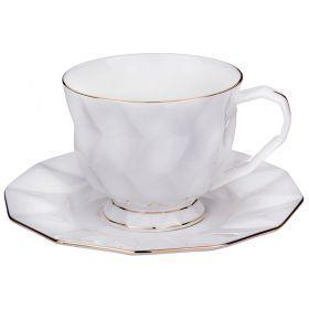 Чайный набор на 1 персону 2 пр.250 мл.высота=7 см.-264-761