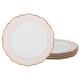 Набор из 6-ти подстановочных тарелок диаметр=26,5 см (кор=4набор.)-115-306