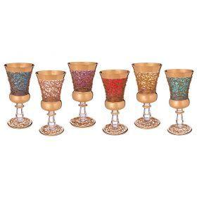 Набор стаканов из 6 шт.280 мл.высота=20 см.