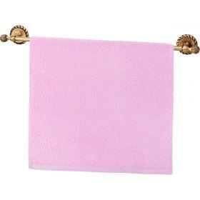 Полотенце махровое ,50х90, розовое ,100% х\б-703-13126