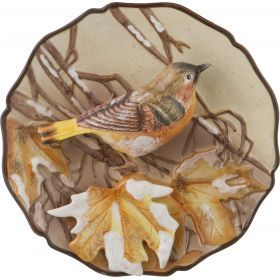 Тарелка декоративная птица диаметр=20 см.
