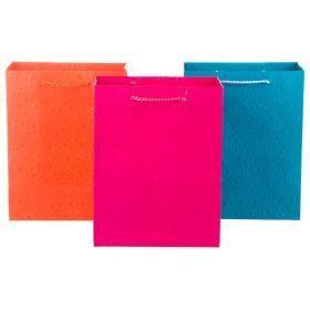 Комплект бумажных пакетов из 12 шт 23*18*10 см.3 вида-512-510