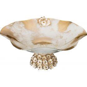 Декоративная чаша диаметр=35 см. высота=16 см.-316-1071
