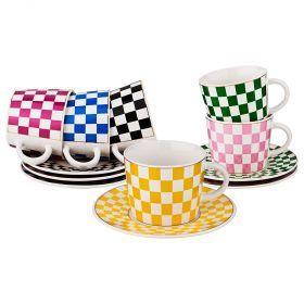 Чайный набор на 6 персон 12 пр. коллекция