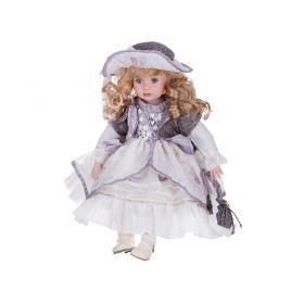 Кукла фарфоровая высота=50 см.-346-218