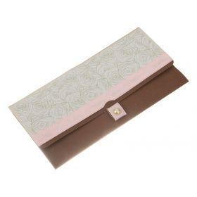 Конверт подарочный бусинка 19*8 см.