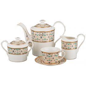 Чайный сервиз на 6 персон 15 пр.1400/250/400/500 мл.-760-409