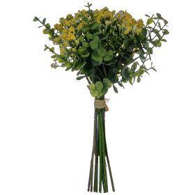 Букет из искусственных цветов высота=30 см. (мал=24шт./кор=144шт.)-111-215