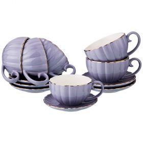 Чайный набор на 6 персон 12 пр 200 мл (кор=6набор.)-153-865