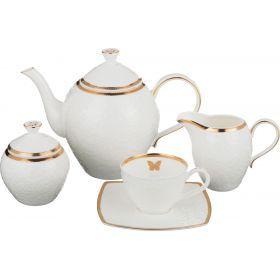 Чайный сервиз на 6 персон 15 пр.1350/200/350/300 мл.-586-333