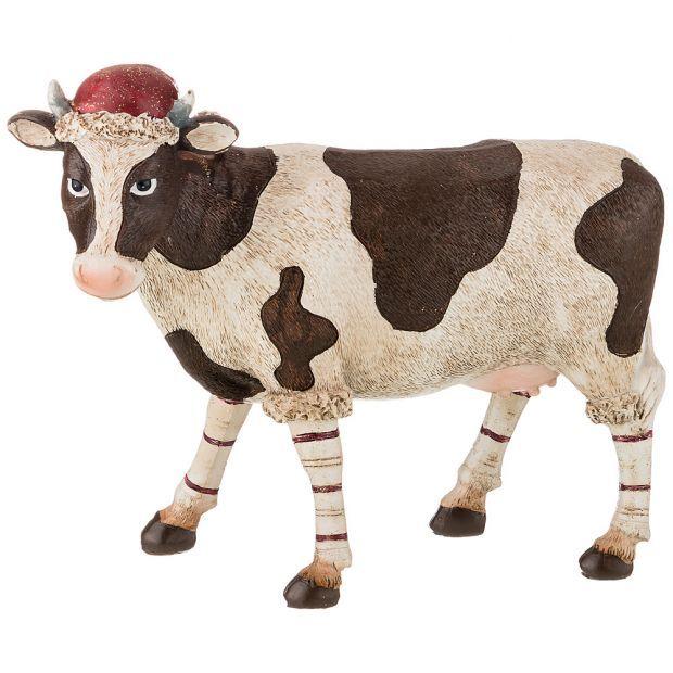 """Фигурка """"корова""""  20*9,5*17,5 см. (кор=8шт.)-162-838"""