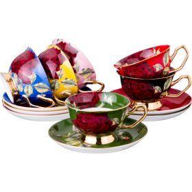 Чайный набор на 6 персон 12 пр.220 мл.-779-179