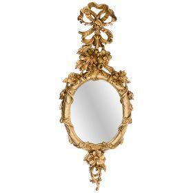 Зеркало настенное позолоченное-290-088