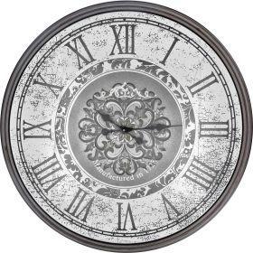 Часы настенные кварцевые 82*82*9 см. диаметр циферблата=69 см.-108-106