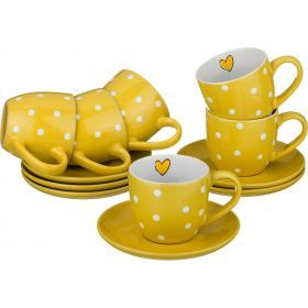 Чайный набор на 6 персон 12 пр. 220 мл.-584-070