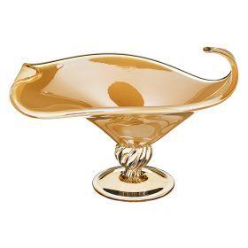 Декоративная чаша 30*38 см.высота=23 см.-647-630