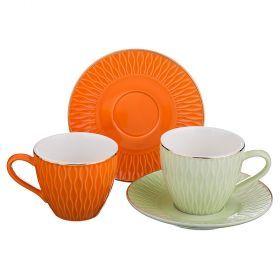 Чайный набор на 2 персоны 4пр. 220мл-389-472