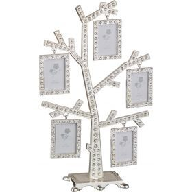 Фоторамка-дерево 16*8.5*24 см на 5 фото 4*5 см (кор=18шт.)-363-027