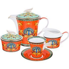 Чайный сервиз на 6 персон 15 пр. 1000/200/250/250мл.-215-279