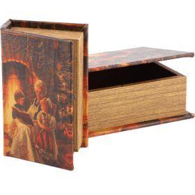 Набор шкатулок-книг из 2 шт.22*16*7/17*11*5 см.-184-220