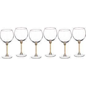 Набор бокалов для вина из 6 шт.600 мл. высота=23 см.-661-040