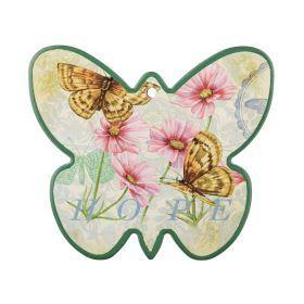 Подставка под горячее бабочка 20*20 см.