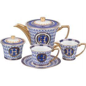 Чайный сервиз на 6 персон 15 пр. 900/200 мл.-215-265