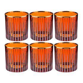 Набор стаканов из 6 шт. 300 мл. высота=9 см.-103-536