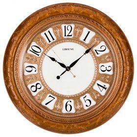 Часы настенные кварцевые 52*7*52 см. диаметр=39 см. (кор=6шт.)-204-238