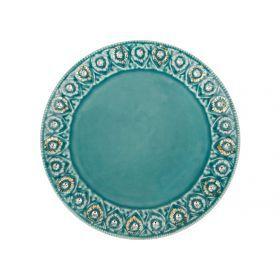 Тарелка диаметр=21 см.-341-207