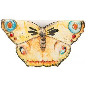 Кашпо настенное бабочки 27*6 см.высота=16 см.
