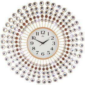 Часы настенные кварцевые диаметр=60 см (кор=6шт.)-207-333