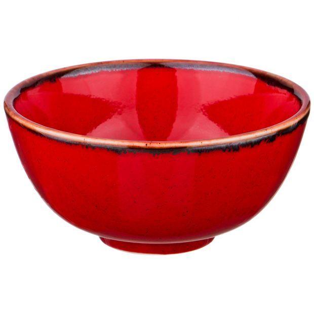 Миска seasons 13 см цвет красный (кор=8шт.)-664-119